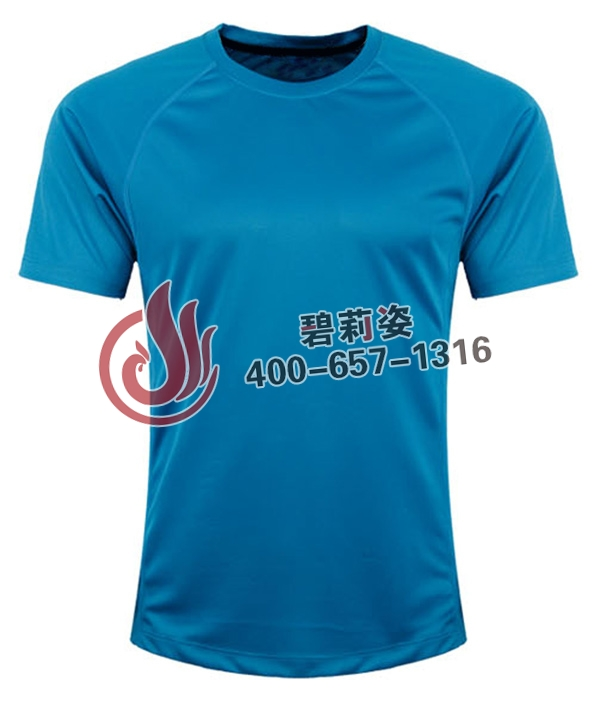 湖蓝文化衫创意设计